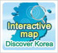 English Map of Korea